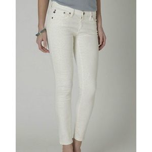 AG ADRIANO GOLDSCHMIED Cheetah Legging Ankle Jeans
